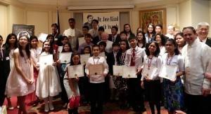 PH Ambassador Calls on Rizal Youth Awardees to Lead Purposeful Lives