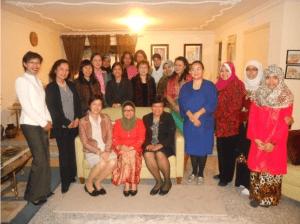 ASEAN WOMEN's CIRCLE IN LOS ANGELES (AWCLA) WELCOMES CONSUL GENERAL MARIA HELLEN BARBER DE LA VEGA