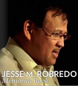 JESSE M. ROBREDO MEMORIAL BOOK