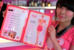 First Barbie-themed restaurant opens in Taiwan