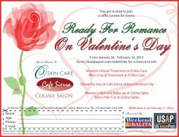 Ready for Romance: Valentine's Day 2013 Raffle Contest