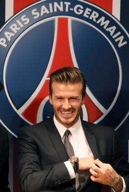 British football player David Beckham ©AFP PHOTO / LOIC VENANCE