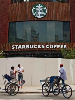 Starbucks opens first store in Vietnam
