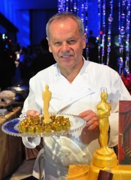 Chef Wolfgang Puck: 19 years of feeding Oscars' hungry