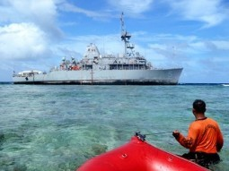 USS Guardian grounding incident: U.S. committed to cooperate, compensate