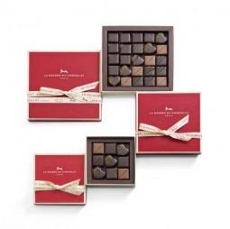La Maison du Chocolat's special Valentine's Day chocolate boxes. ©La Maison du Chocolat