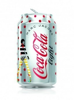 Coca-Cola and Marc Jacobs launch limited-edition cans