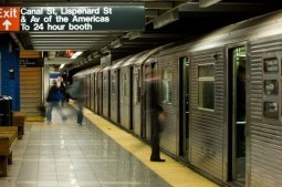 Video shows snapshots from a year of travel on New York subway