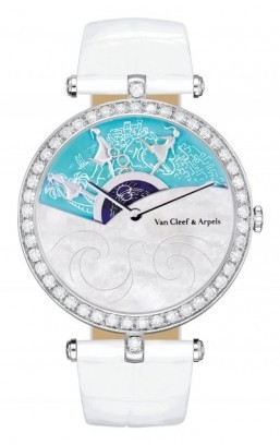 Van Cleef & Arpels creates watch for charity auction