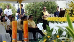 President Aquino leads commemoration of 32nd martyrdom of his father Ninoy