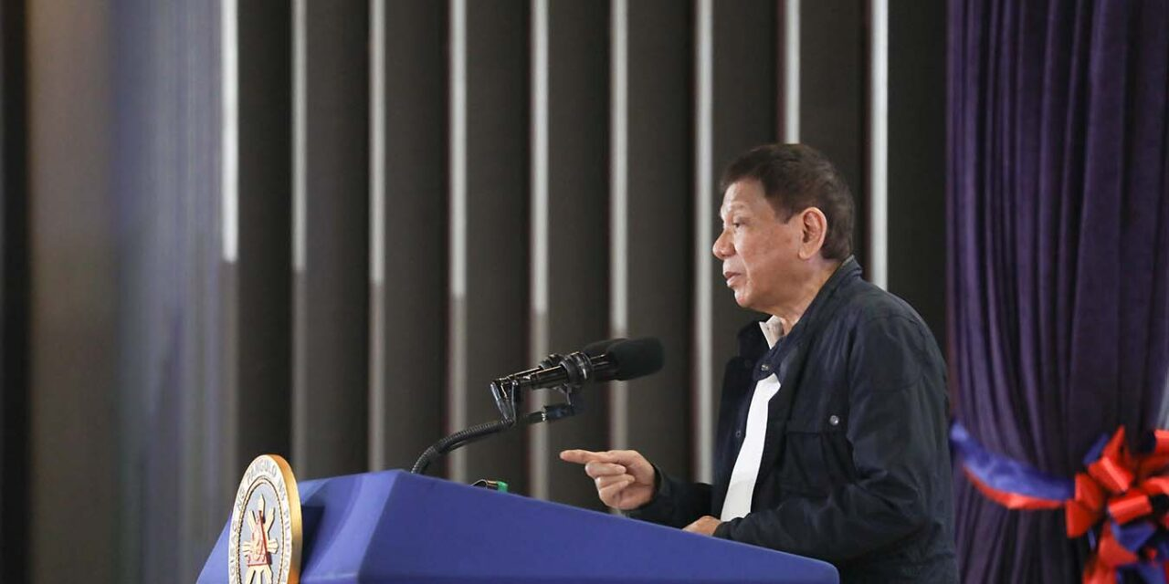 DUTERTE FORMALLY ACCEPTS VP BID FOR 'CONTINUITY'