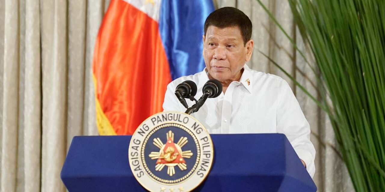 GIVE NEW LOCALIZED LOCKDOWN POLICY A CHANCE — PRRD