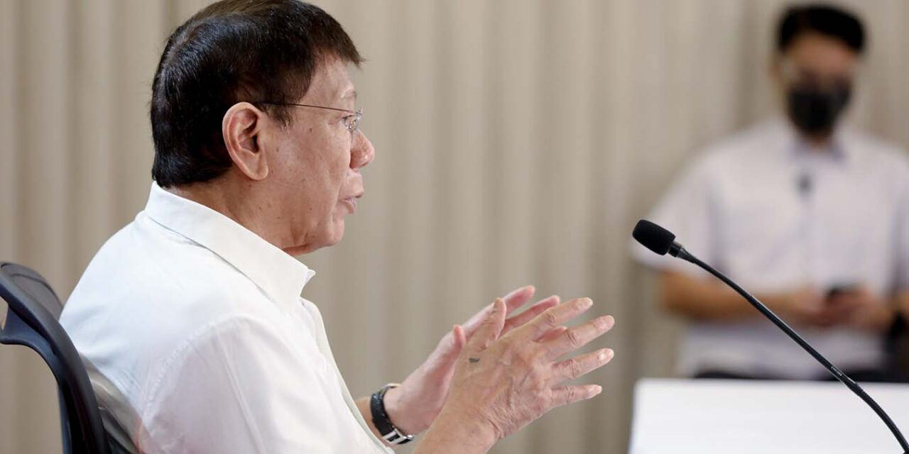 DUTERTE APPROVES LAW TAXING POGOS
