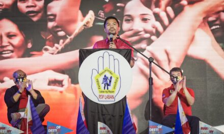 PACQUIAO CHOSEN AS PDP-LABAN FACTION STANDARD BEARER FOR ELEKSYON 2022