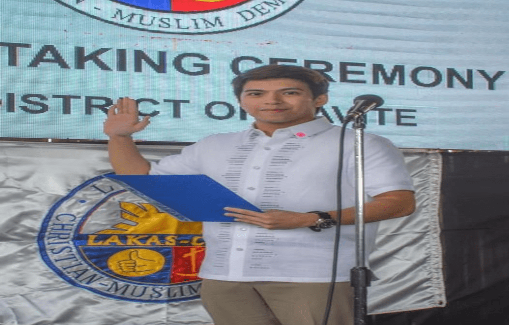 IS NASH AGUAS RUNNING FOR PUBLIC OFFICE IN CAVITE?
