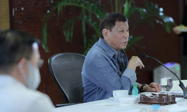 DUTERTE: I WILL STOP MEMBERS OF EXECUTIVE FROM OBEYING GORDON'S SUMMONS
