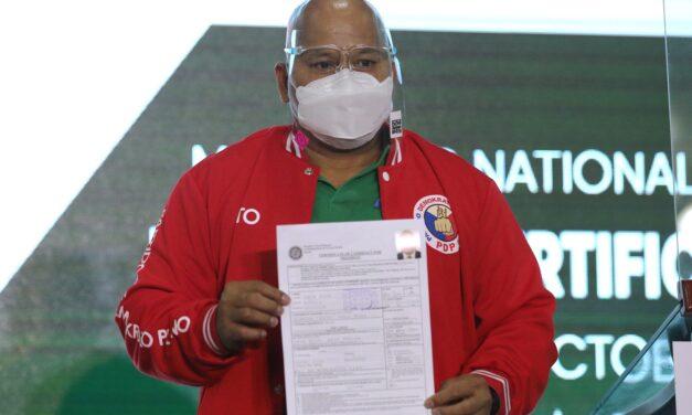 PDP-LABAN FIELDS BATO-BONG TANDEM