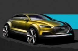 Audi teases crossover concept ahead of Beijing