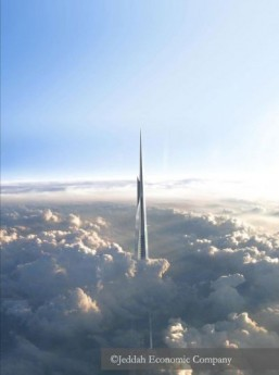 Saudi Arabia to build world's tallest tower at one kilometer high