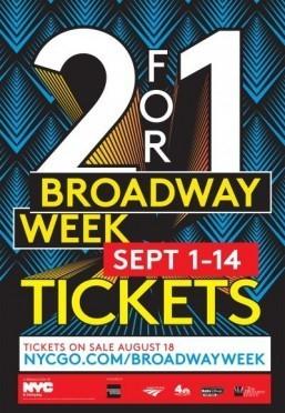 New York kicks off Broadway Week