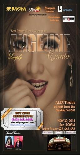 Angeline Quinto live in concert