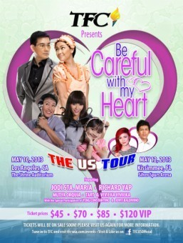 """Cast of """"Be Careful With My Heart"""" ready to charm fans in Los Angeles and Kissimmee concerts this May"""