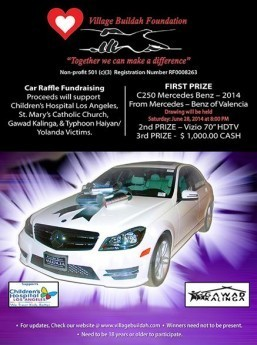Village Buildah to Hold International Car Raffle Fundraising Event for Charity