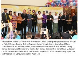 Colorful PHL, other cultures shown in Asean Fest in Los Angeles