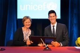 Djokovic new UNICEF goodwill ambassador