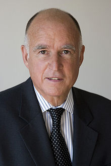 California governor Jerry Brown (http://en.wikipedia.org/wiki/Jerry_Brown)