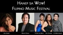 Joey Albert, Nonoy Zuniga to Headline 'HANEP SA WOW' Filipino Fest, Nov. 30 at PALA