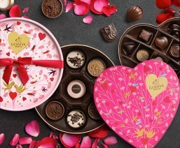 The Godiva Valentine's Day Collection