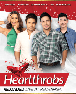 Ultimate Heartthrobs Piolo & Sam with 'Pokwang' & Darren Live at Pechanga in March