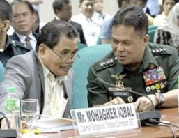 MILF means business by handing over weapons, fighters — Iqbal
