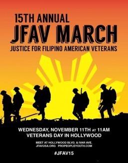 JFAV to lead Fil-Am vets rally Nov. 11