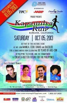 All systems go for Kapamilya Run in Burbank, CA on Oct 5