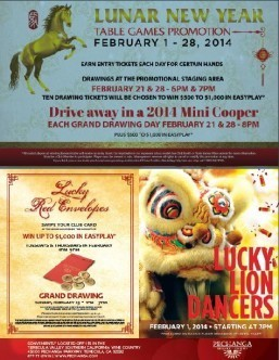 Celebrate Asian New Year with the Lucky Lion Dancers at Pechanga Resort & Casino