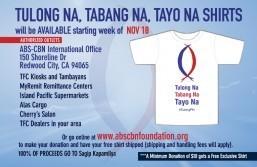 TFC-ABS-CBN International Sagip Kapamilya Typhoon Yolanda – U.S. & Canada – EXTENDED