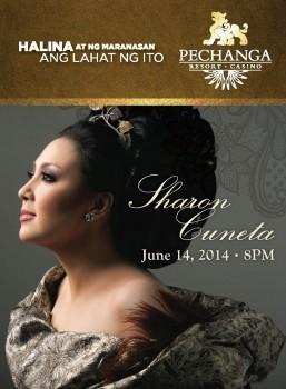 Philippine 'Megastar' Sharon Cuneta Live at Pechanga Theater on June 14