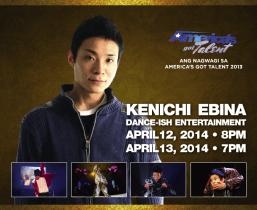 """America's Got Talent"" 2013 Winner Kenichi Ebina Performing Live At Pechanga This April"