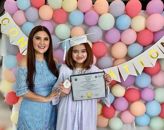 VINA MORALES SHARES DAUGHTER CEANA'S LATEST ACHIEVEMENT