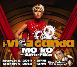 i-Vice Ganda Mo 'ko sa Amerika comes to the Pechanga Theater