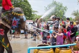 "Thai New Year ""Songkran"" Festival"