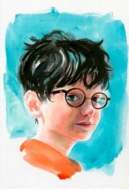 A new face for Harry Potter by Jim Kay © Jim Kay / Bloomsbury