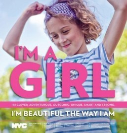 New York campaigns to boost girls' self-esteem