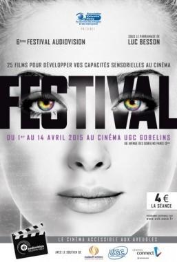 Paris holds film festival — for the blind