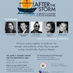 Lea Salonga, Lou Diamond Phillips, Apl.de.Ap, Christine Rocas, Rodell Rosel lead celebrities in Haiyan concert