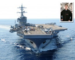 Torrance, Calif. native serves aboard the aircraft carrier USS George H. W. Bush