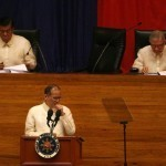 Aquino: Job enormous, but I'm determined to serve weaves DAP early into his fifth report to the nation