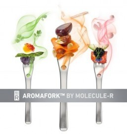 Aroma-diffusing fork adds another layer to dinner